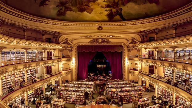 Nejkrásnější knihkupectví světa a další zajímavosti