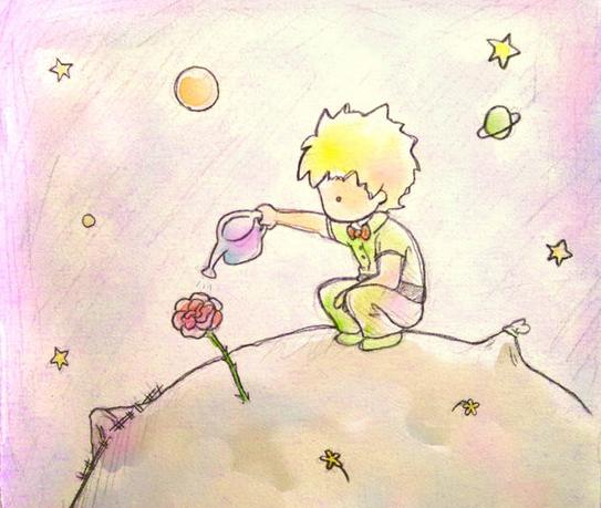"""Výsledek obrázku pro citáty z malého prince """"Všichni dospělí byli dětmi. (Ale málokdo si na to pamatuje.)"""""""