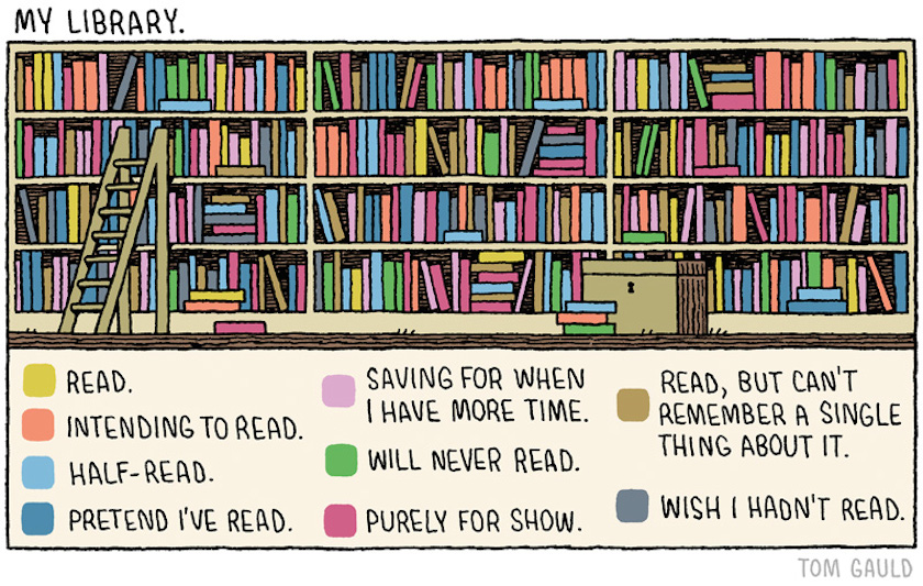My-library-Tom-Gauld
