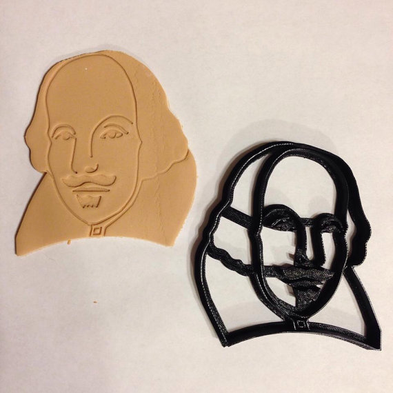 Shakespeare-Cookie-Cutter