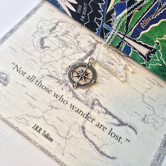 J. R. R. Tolkien - Ne každý, kdo putuje, je ztracen.