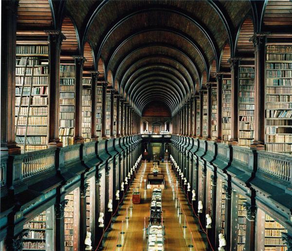 Trinity College, DUblin, Irsko.