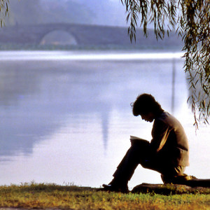 Reading_By_The_Lake