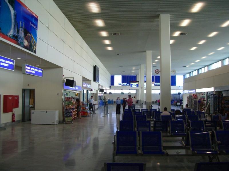 Krakozhia - Terminál. Krakozhia, do kterého se chce vrátit Tom Hanks ve slavném filmu Termiál, je vymyšlené město. Ve skutečnosti se však jedná o Makedonskou republiku. Samotný děj filmu se pak odehrává na letišti v Atlantě.