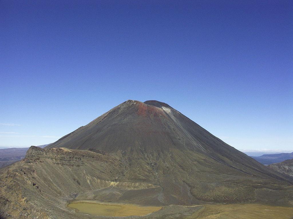 Mordor - Pán prstenů. Je známo, že děj této slavné trilogie se natáčel na Novém Zélandu. Konkrétně však Mordor je ve skutečnosti hora Tongariro.
