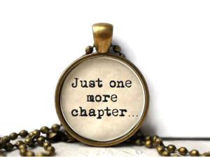 Ještě jednu kapitolu... Přívěšek vypovídající o vaší lásce.