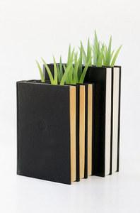 Nechte z knihy vyrůstat trávu!