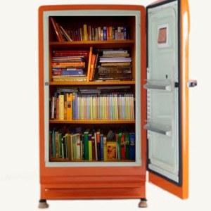 Někdo chodí do lednice pro jídlo, jiný pro knihy.