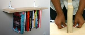Uložte si knihy vzhůru nohama.