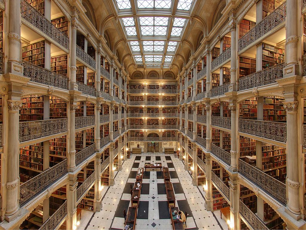 The George Peabody Library v Baltimoru.