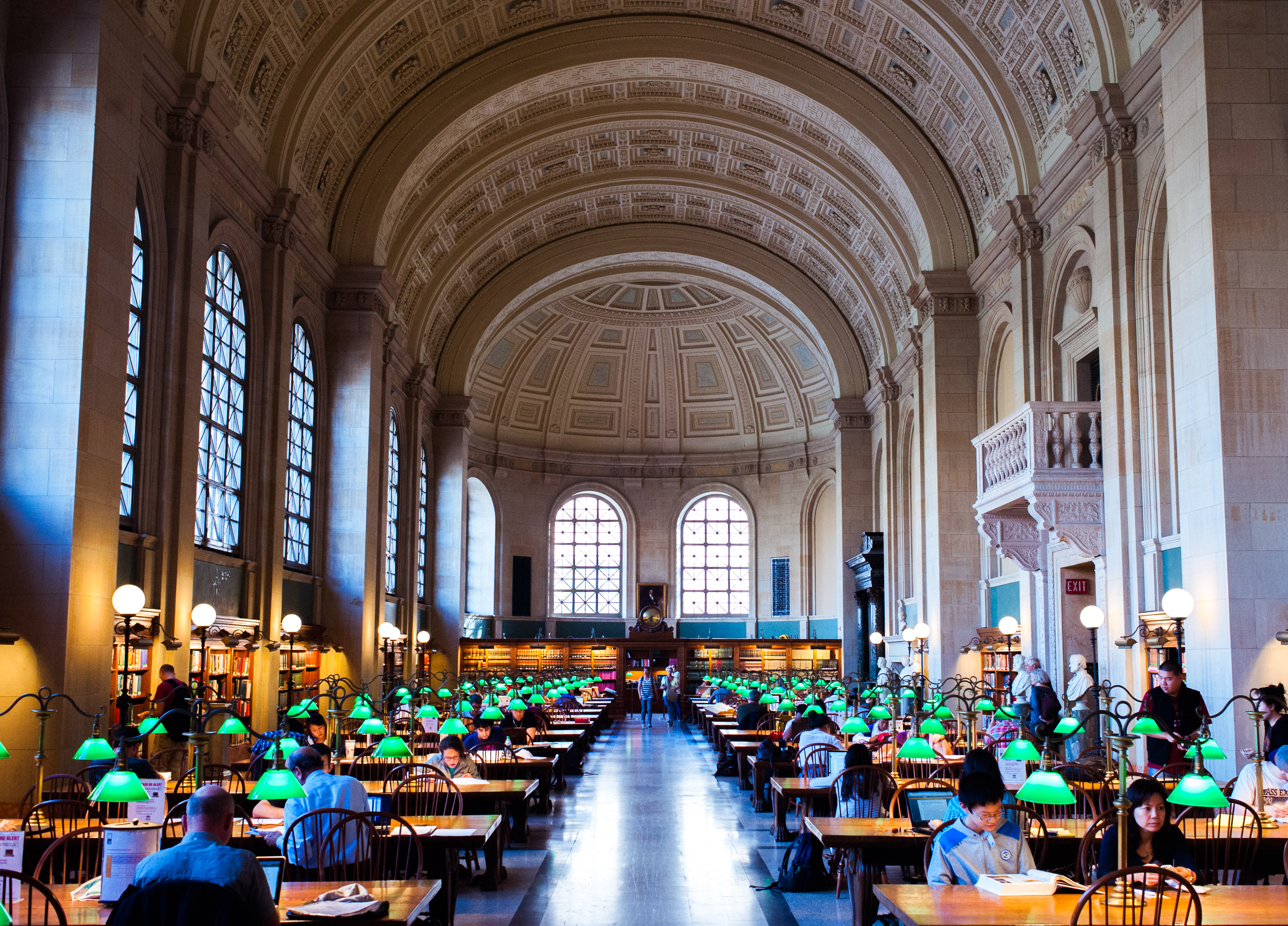 Boston Public Library v Bostonu.