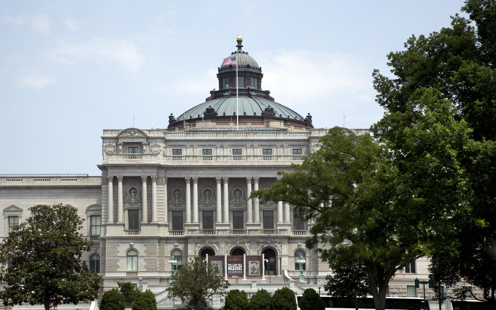 Library of Congress ve Washingtonu D.C.
