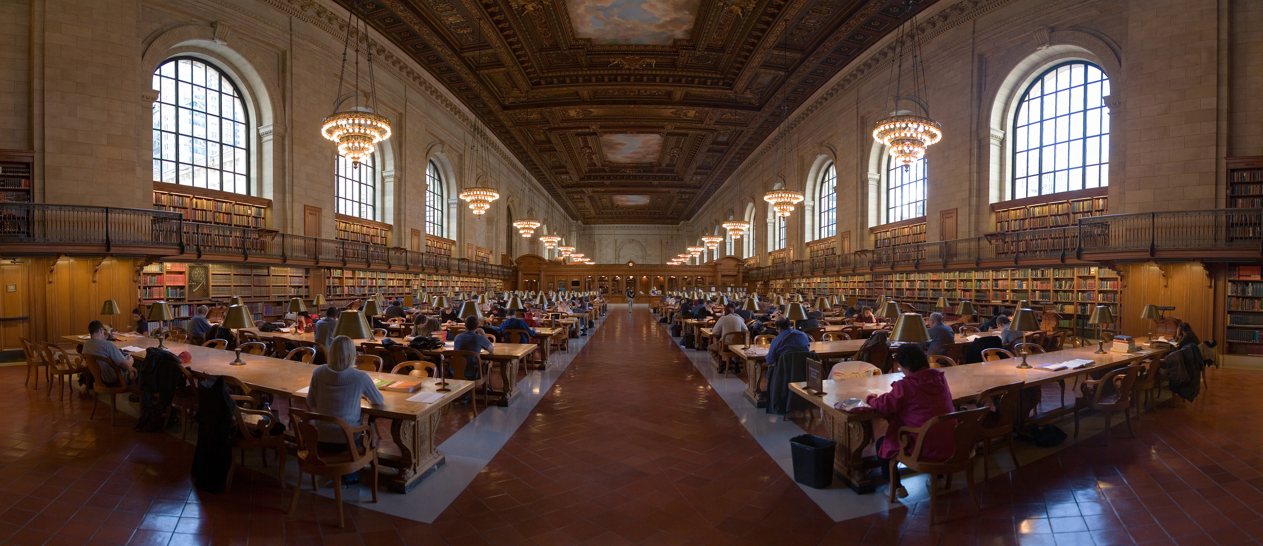 The New York Public Library v New Yorku.